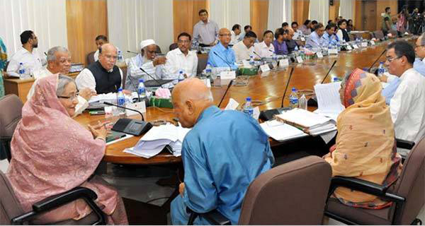 Cabinet approves unseen law