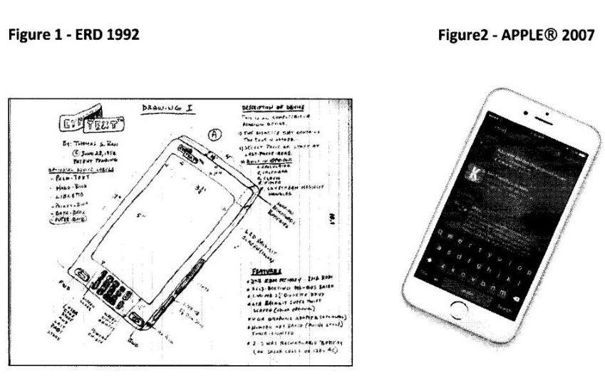 Man Claims He Invented iPhone In 1992 and Sues Apple for $10 Billion