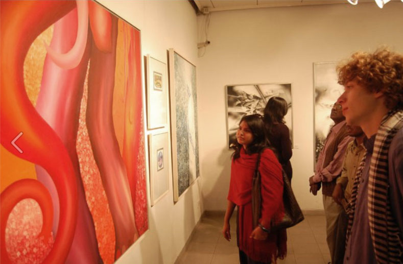 A group exhibition by contemporary Bangladeshi Artist in Bengal Gallery