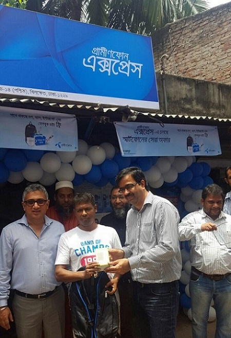 Grameenphone Express launched to digitize life