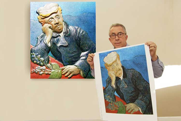 3D PRINTERS HELP THE BLIND TO SEE FINE ART