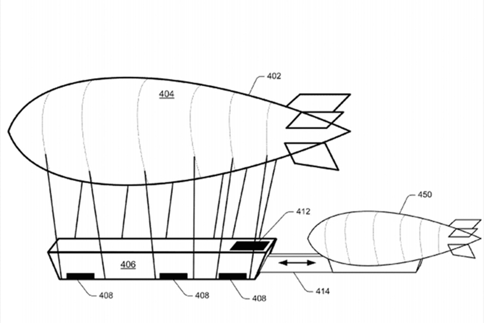 WALMART's NEW PATENT FOR A FLOATING WAREHOUSE SHADOWS AMAZON's DRONE DELIVERY PLANS
