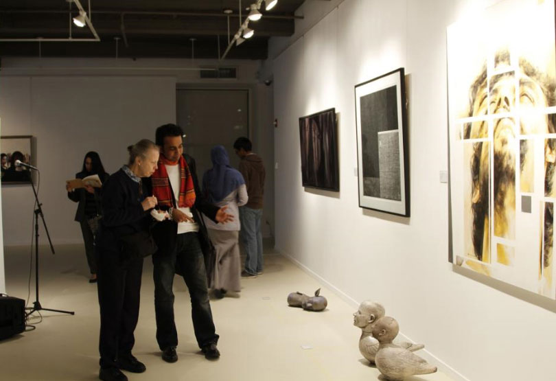 Exclusive art preview at Saffron Art Gallery Newyork by Contemporay Visual Artist from Bangladesh