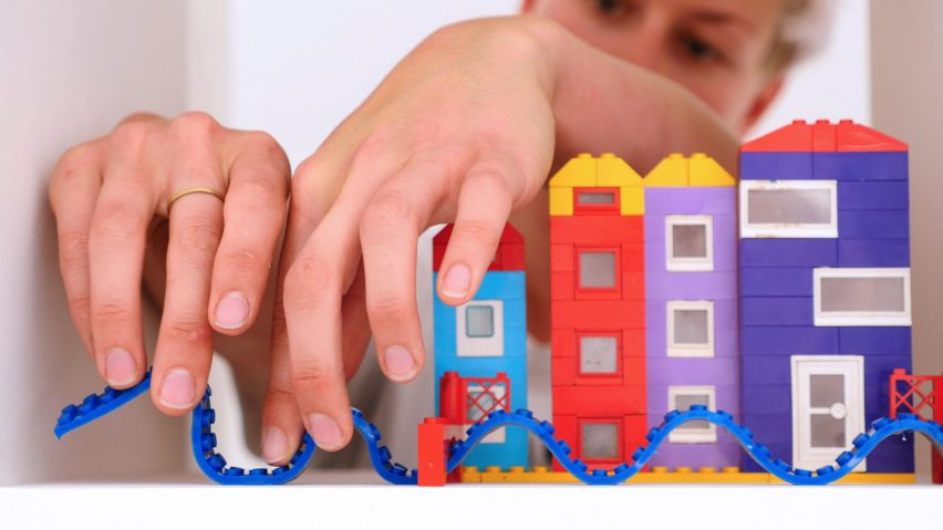 THE TAPE THAT LETS YOU BUILD LEGO BLOCKS IN ANY DIRECTION