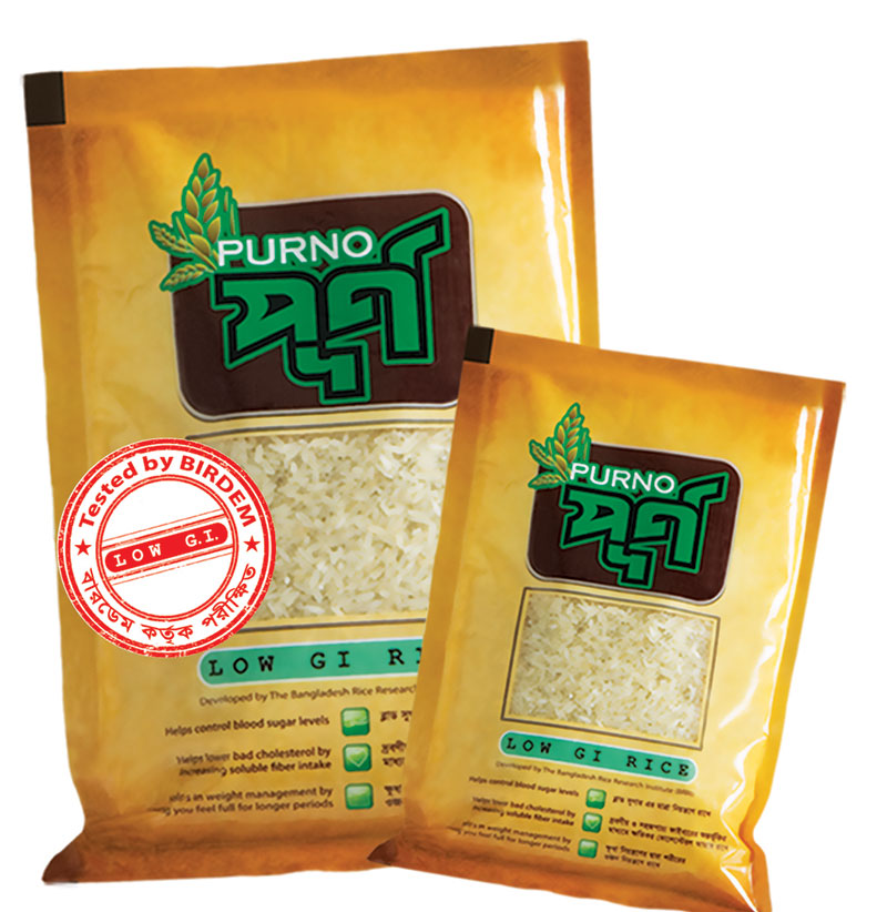 'Purno' Low GI Rice – The latest health food in markets